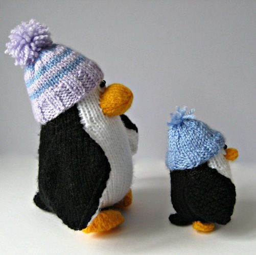 Makerist - Bobble and Bubble Penguins - Knitting Showcase - 2