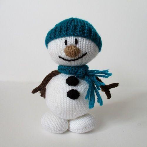 Makerist - Mr Snowman - Knitting Showcase - 1