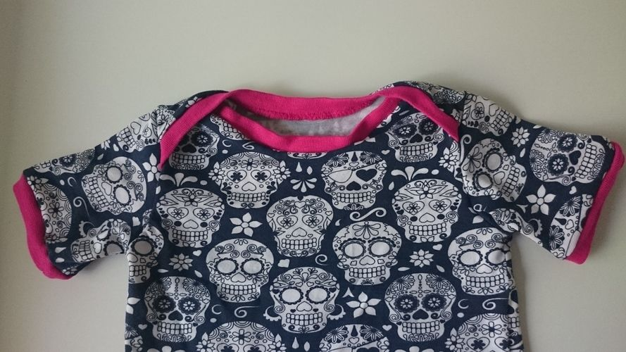 Makerist - Scull Jersey T-shirt - Mädchen Gr. 74 - Nähprojekte - 2