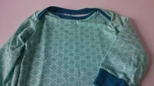 Kleeblatt Jersey T-shirt - Mädchen Gr. 74