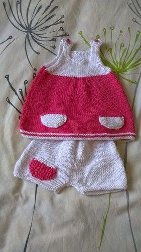 Makerist - Tenue estivale  - Créations de tricot - 1