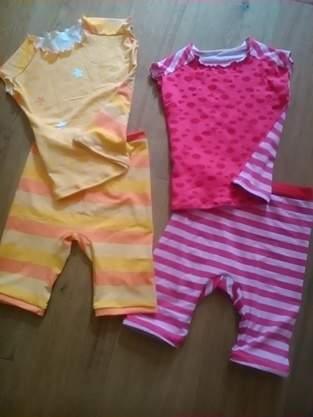 Makerist - Zweimal EasyPeasy als Oberteil für die Sommerschlafanzüge   - 1
