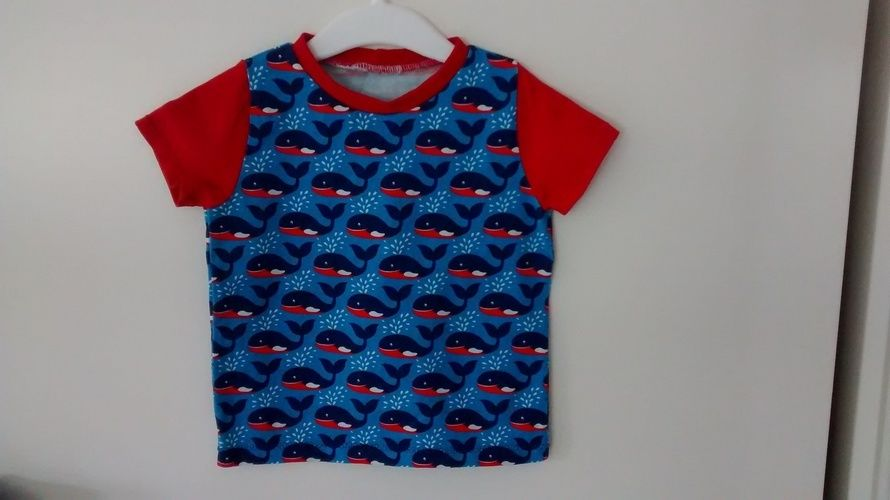 Makerist - Langarmshirt für Kinder kurzarm  - Nähprojekte - 1