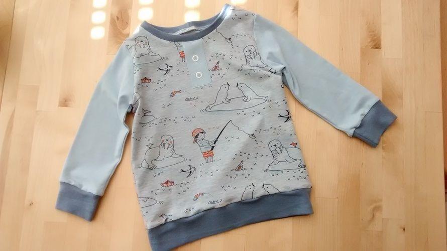 Makerist - Langarmshirt für Kinder die zweite - Nähprojekte - 1