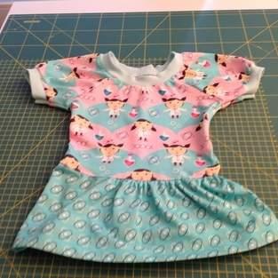 Makerist - Kleidchen für die Tochter einer Freundin zum 1. Geburtstag - 1