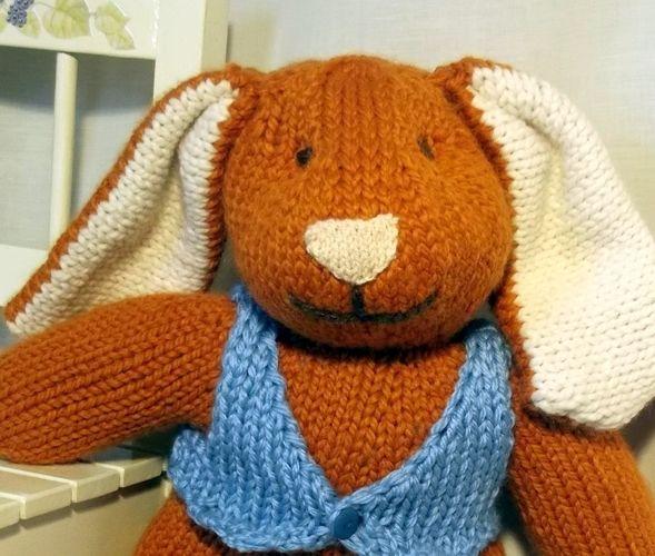 Makerist - Big Bunny toy knitting pattern - Knitting Showcase - 2