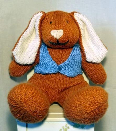 Makerist - Big Bunny toy knitting pattern - Knitting Showcase - 3