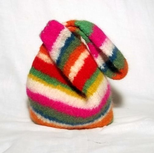 Makerist - Stripes-Japanese Knot Bag - Knitting Showcase - 2