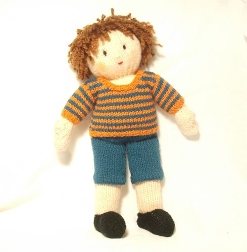 Makerist - Jesse doll- bright stripes jumper - Knitting Showcase - 2
