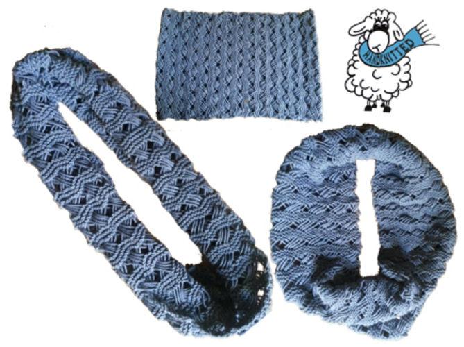 Makerist - Loop | Schal | Indian Cross stitch - Strickprojekte - 1
