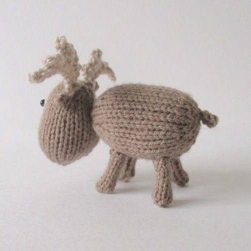 Makerist - Dinky Moose - Knitting Showcase - 2