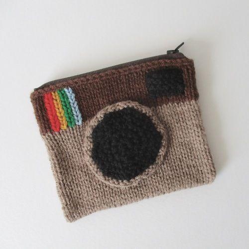 Makerist - Camera Purse - Knitting Showcase - 1