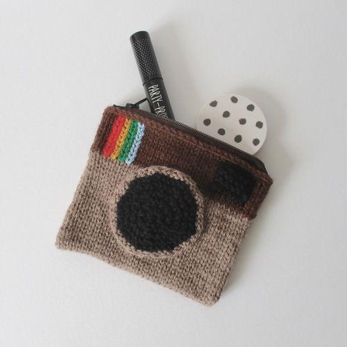 Makerist - Camera Purse - Knitting Showcase - 2