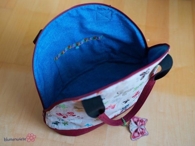 Makerist - Bogentasche aus Kork und Canvas - Nähprojekte - 3