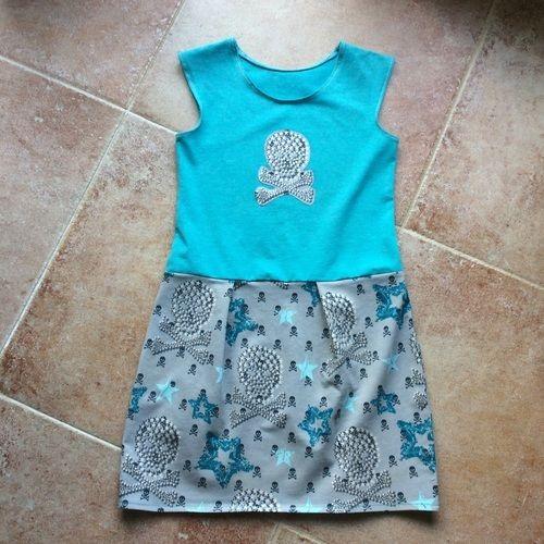 Makerist - Lässiges Kleid Sally für meine Fine komplett aus Jersey  - Nähprojekte - 1