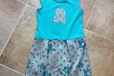 Makerist - Lässiges Kleid Sally für meine Fine komplett aus Jersey  - 1