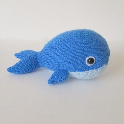 Makerist - Bob the Blue Whale - Knitting Showcase - 1