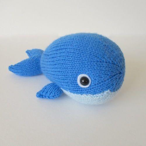 Makerist - Bob the Blue Whale - Knitting Showcase - 2