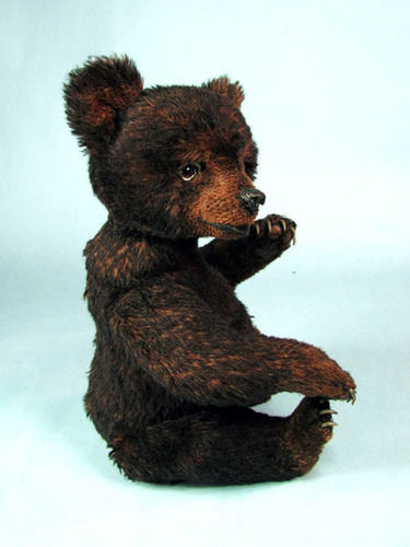 "Makerist - 14"" Miles, an alpaca positionable Black Bear Cub  - Sewing Showcase - 1"