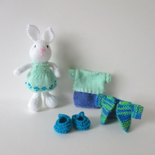 Makerist - Bramble Bunny - Knitting Showcase - 3