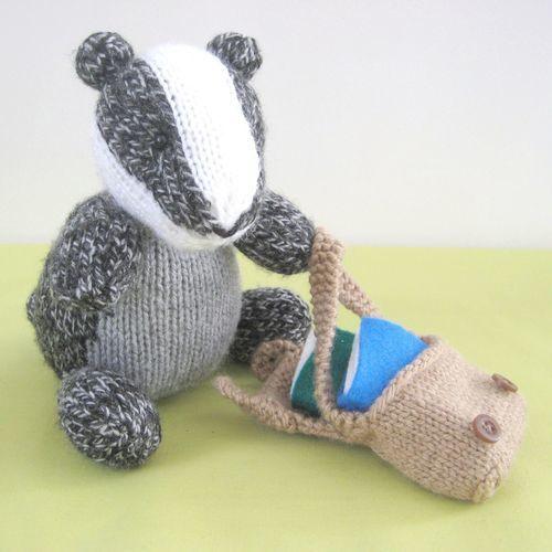 Makerist - Brompton Badger - Knitting Showcase - 2