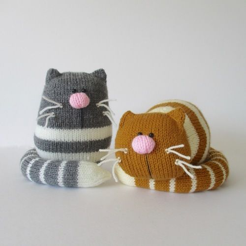 Makerist - Ginger and Smudge - Knitting Showcase - 1