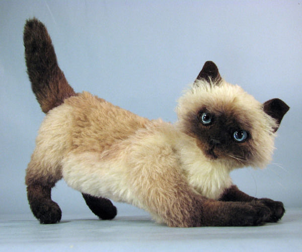 "Makerist - 12"" alpaca fully posable realistic cat collectible - Sewing Showcase - 2"
