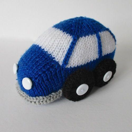 Makerist - Bubble Car - Knitting Showcase - 1