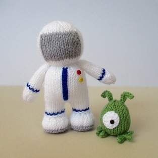 Buzz the Astronaut and Zoff the Alien