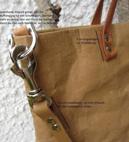 Makerist - SnapPap Tasche mit Lederhenkel - Nähprojekte - 3