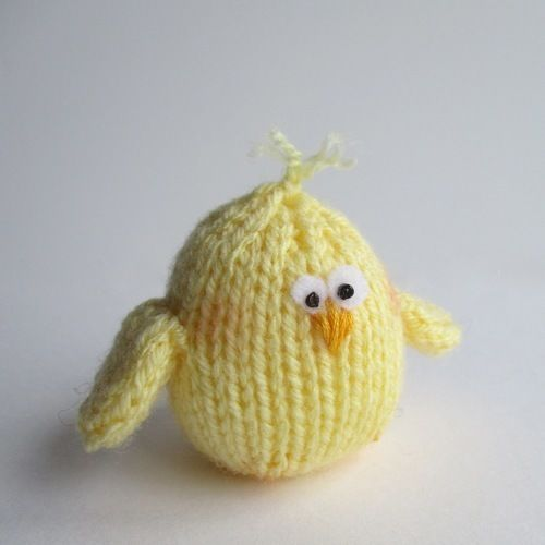 Makerist - Bunny and Chicky - Knitting Showcase - 2