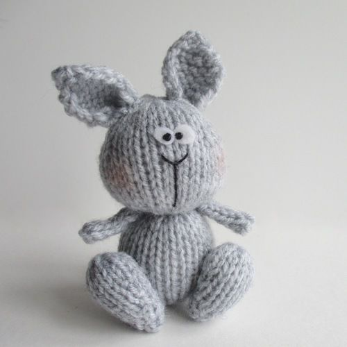 Makerist - Bunny and Chicky - Knitting Showcase - 3