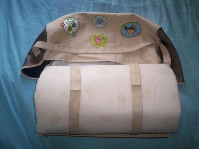 Makerist - sac porte matelas pour lit parapluie pour le bébé d'une amie - Créations de couture - 1