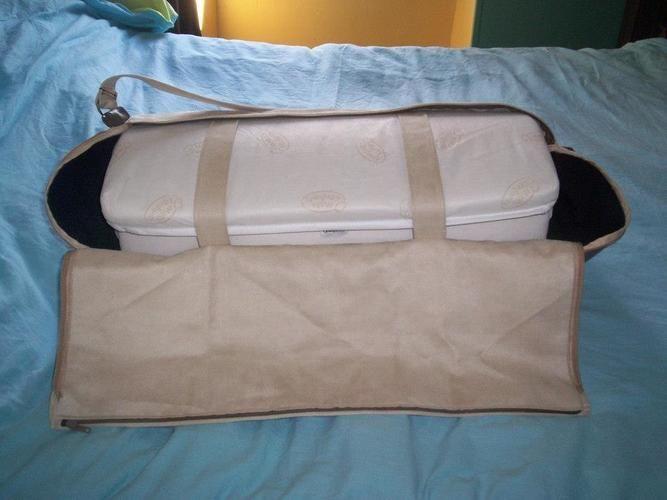 Makerist - sac porte matelas pour lit parapluie pour le bébé d'une amie - Créations de couture - 2