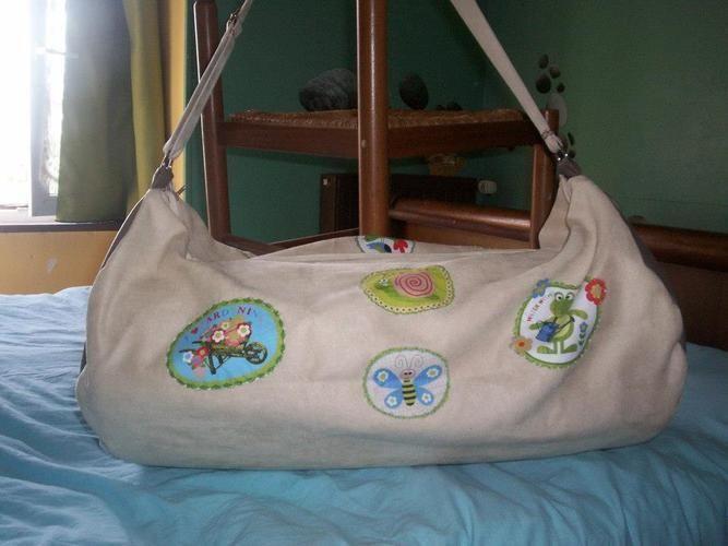 Makerist - sac porte matelas pour lit parapluie pour le bébé d'une amie - Créations de couture - 3