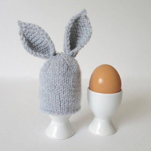 Makerist - Bunny Ears Egg Cosy - Knitting Showcase - 1