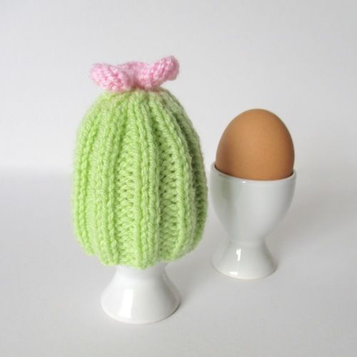 Makerist - Cactus Egg Cosy - Knitting Showcase - 1