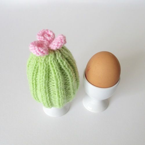 Makerist - Cactus Egg Cosy - Knitting Showcase - 2