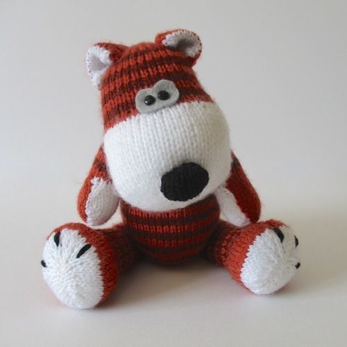 Makerist - Carlton the Tiger - Knitting Showcase - 1