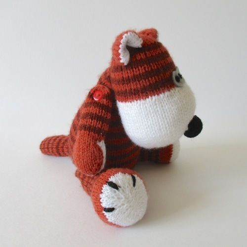 Makerist - Carlton the Tiger - Knitting Showcase - 2