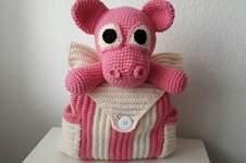 Makerist - Rucksack Schwein  - 1