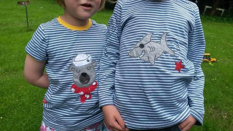 Makerist - Maritimes Shirt Pepe aus Jersey - Nähprojekte - 1