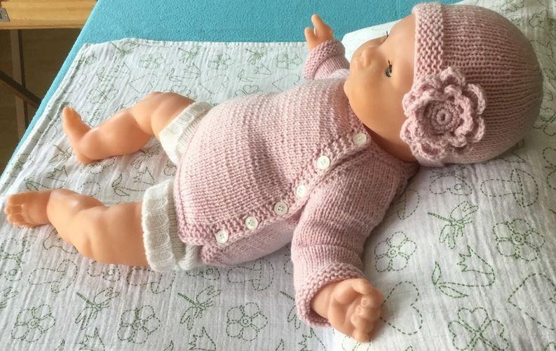 Makerist - Babyjäckchen mit Mütze - Strickprojekte - 2