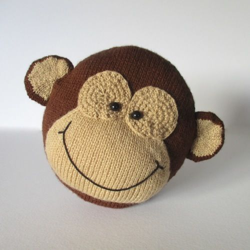 Makerist - Charlie the Monkey - Knitting Showcase - 2