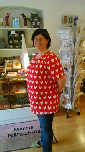 Makerist - Katrice XL von MiouMiou aus herzchenschöner Baumwolle für mich genäht - Nähprojekte - 1