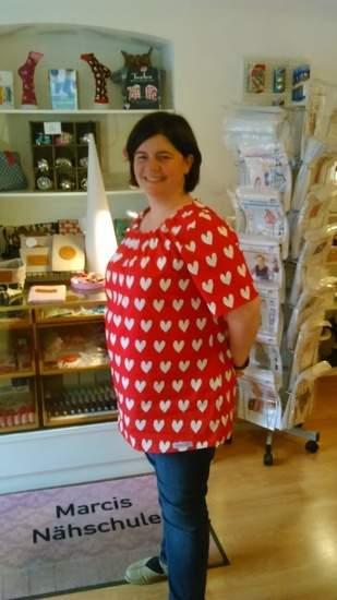 Makerist - Katrice XL von MiouMiou aus herzchenschöner Baumwolle für mich genäht - 1