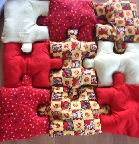 Makerist - Puzzle coussins - Créations de couture - 1