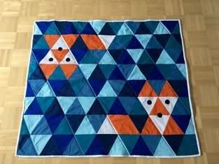 Makerist - Patchworkdecke aus Dreiecken - 1