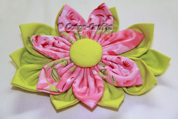 Makerist - DIY - Stoffblume selbst gemacht - Nähprojekte - 1