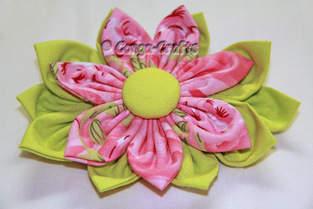 Makerist - DIY - Stoffblume selbst gemacht - 1